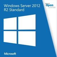 MICROSOFT WINDOWS SERVER 2012 STANDARD R2 Full Version License- Fast Email Delivery