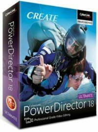 CyberLink PowerDirector Ultimate 18 LifeTime Licence Fast Delivery Product key CdKeys