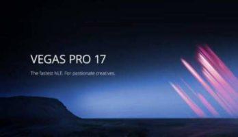 Sony Vegas pro 17+Lifetime Activated+windows (64BIT)